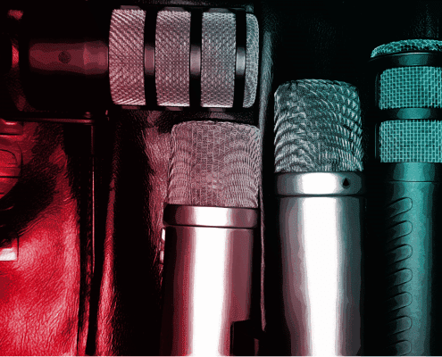 Mics | Fogel-Podcasting - Agentur für Corporate Podcasts (B2B)